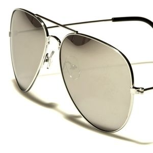 Aviator AirForce Sunglasses UV400 Silver